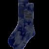 Bee FxxxING Unusual Tie Dye socks Grey Blue
